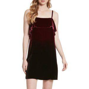 Alice + Olivia - Bess Ombre Velvet Slip Dress--NWT
